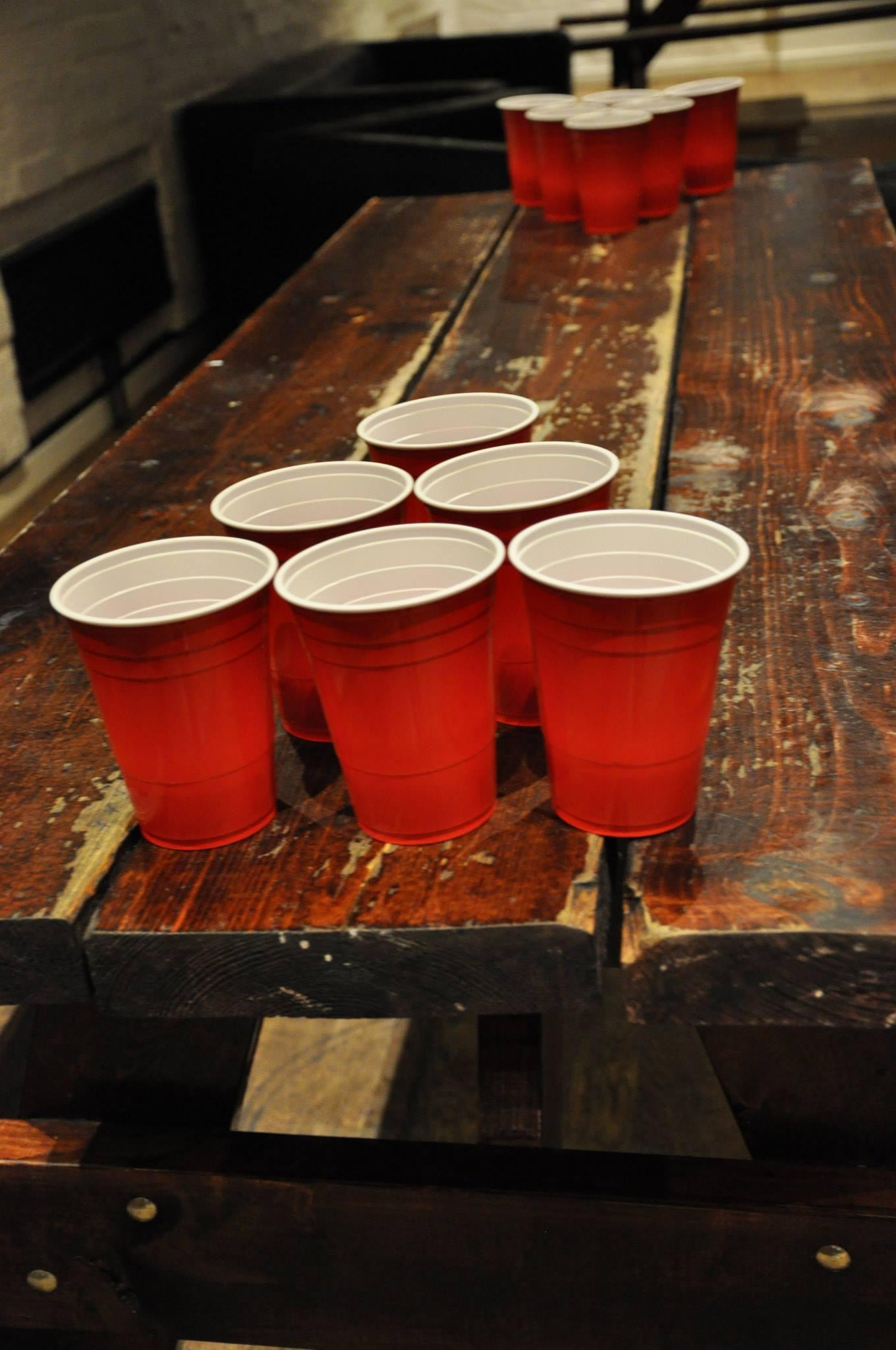 Mehumbdas beer-pong turnering